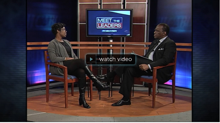 Essex County Register of Deeds and Mortgages, Dana Rone in Meet the Leaders Show This show was taped on Friday, February 19 at Cablevision's Newark studio